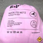 RSP Moskitonetz Travel XXL mit Eingang Einzelbett rosa