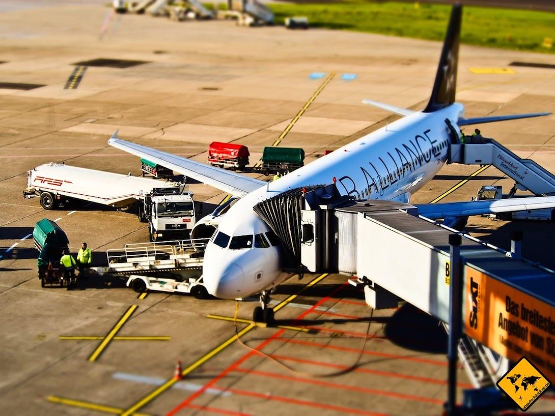Wenn du dein RTW Ticket über eine Airline-Allianz wie z.B. die Star Alliance kaufst, bist du an bestimmte Fluglinien gebunden