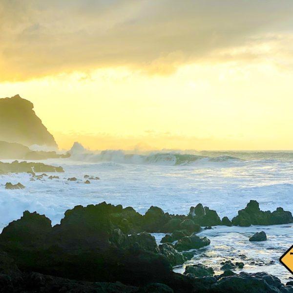 Raue See Playa de las Arenas