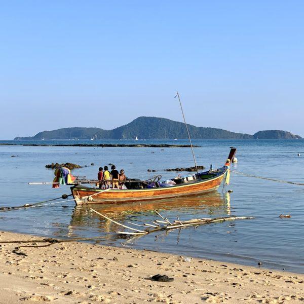 Rawai Beach Fischer Boot