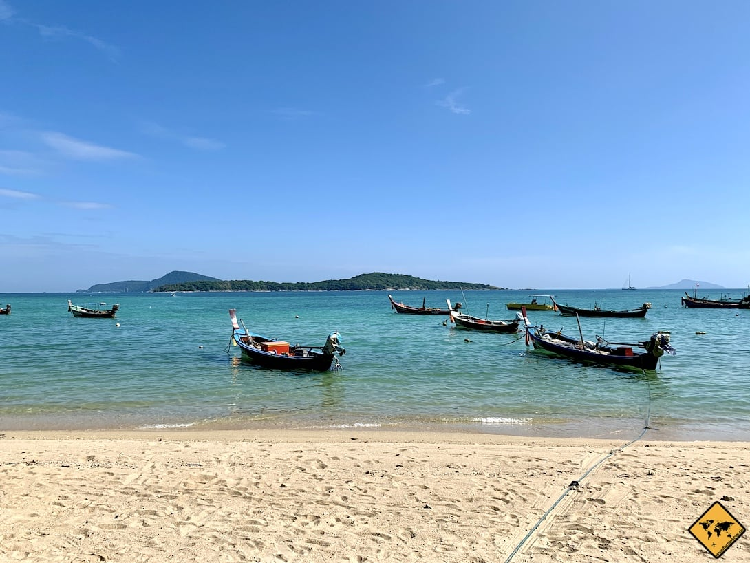 Rawai Beach Fischerboote