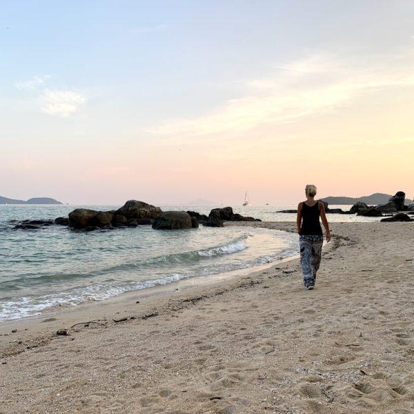 Rawai Secret Beach abends
