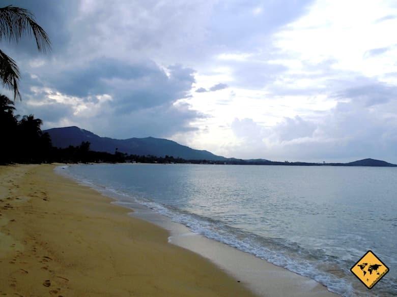 Regenzeit Thailand Koh Samui November