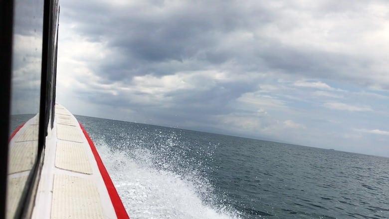 Regenzeit auf Bali Bootfahrt