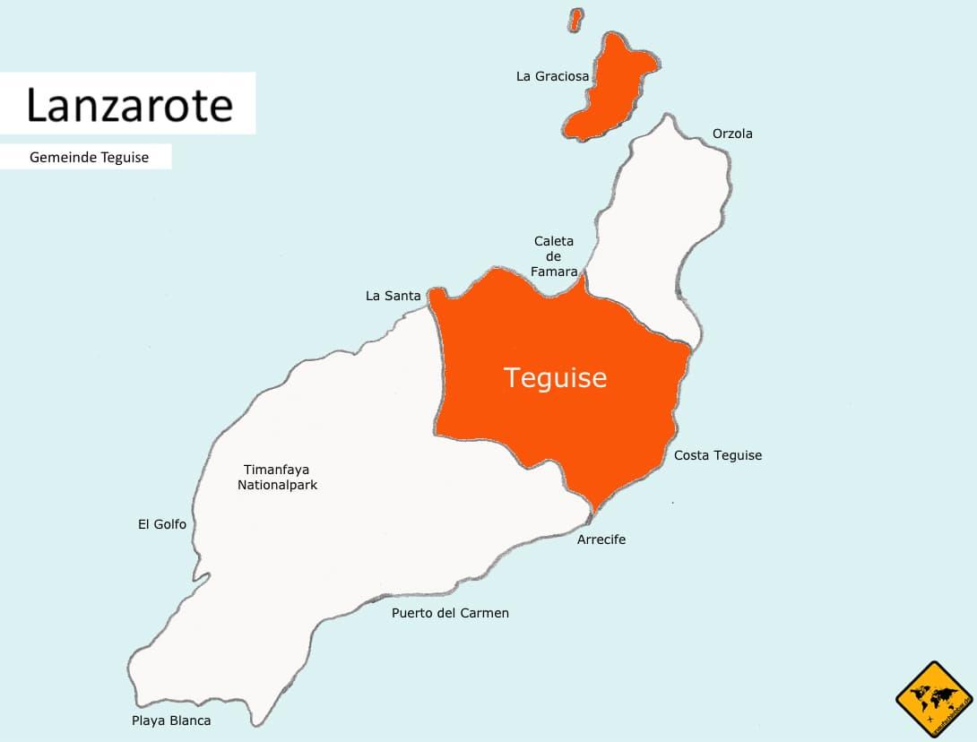 Region Teguise Lanzarote