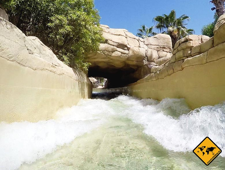 Flussrutsche im Aquaventure Dubai