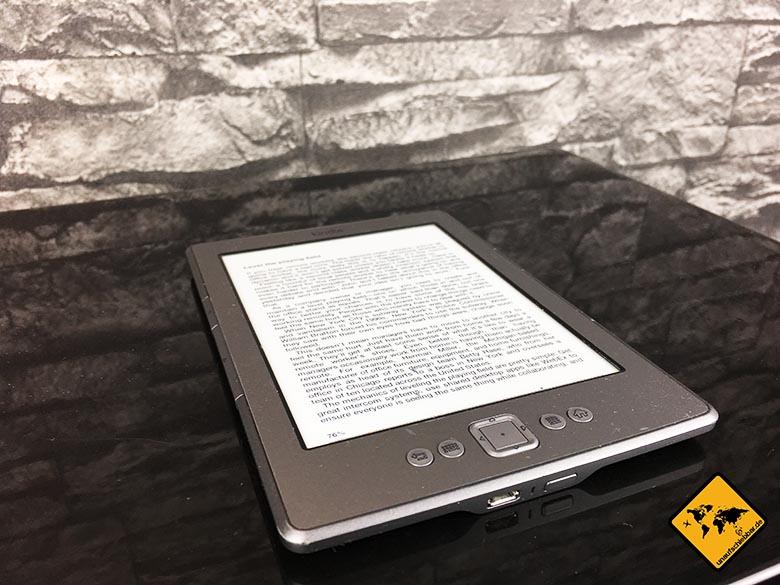 Reise Gadgets für Männer Kindle Paperwhite