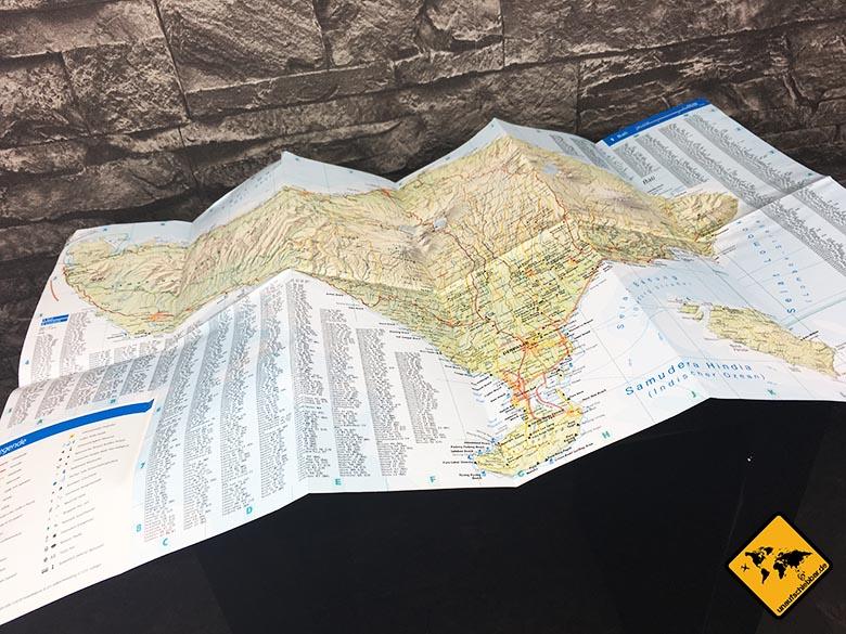 Reiseführer Bali - DuMont Reise-Taschenbuch Lombok und Bali Reiseführer Karte