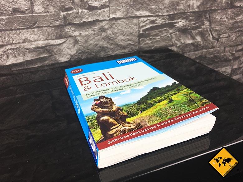 Reiseführer Bali DuMont Reise-Taschenbuch Reiseführer Bali und Lombok Cover seitliche Ansicht