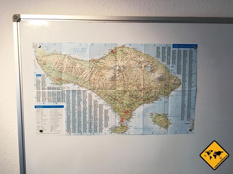 Reiseführer Bali DuMont Reise-Taschenbuch Reiseführer Bali und Lombok Karte Whiteboard