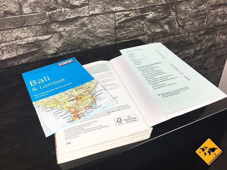 Reiseführer Bali DuMont Reise-Taschenbuch Reiseführer Bali und Lombok Map und Karte hinten