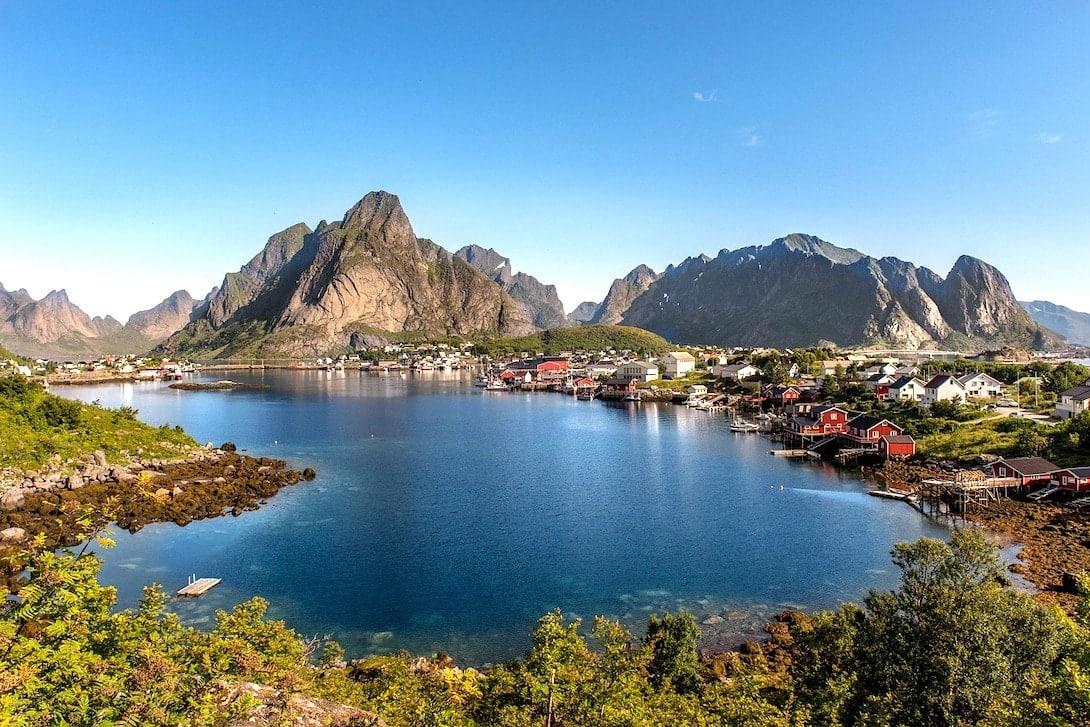 Reisen nach Norwegen Lofoten