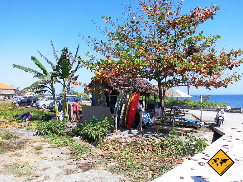 Reisen und Geld verdienen als Surflehrer arbeiten auf Bali