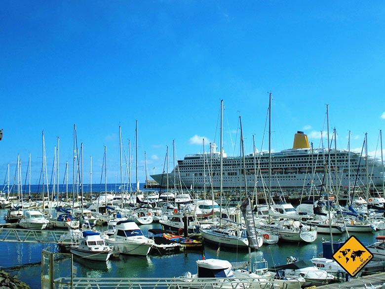 Reisen und Geld verdienen- auf einem Kreuzfahrtschiff arbeiten