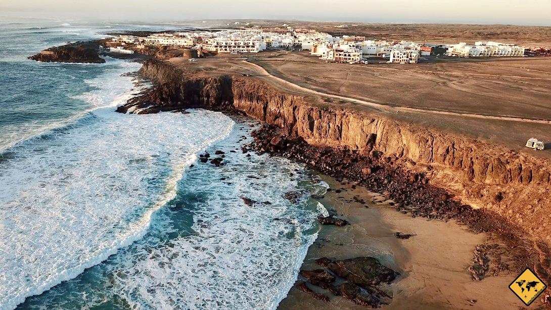 Reiseziele auf Fuerteventura El Cotillo Küste