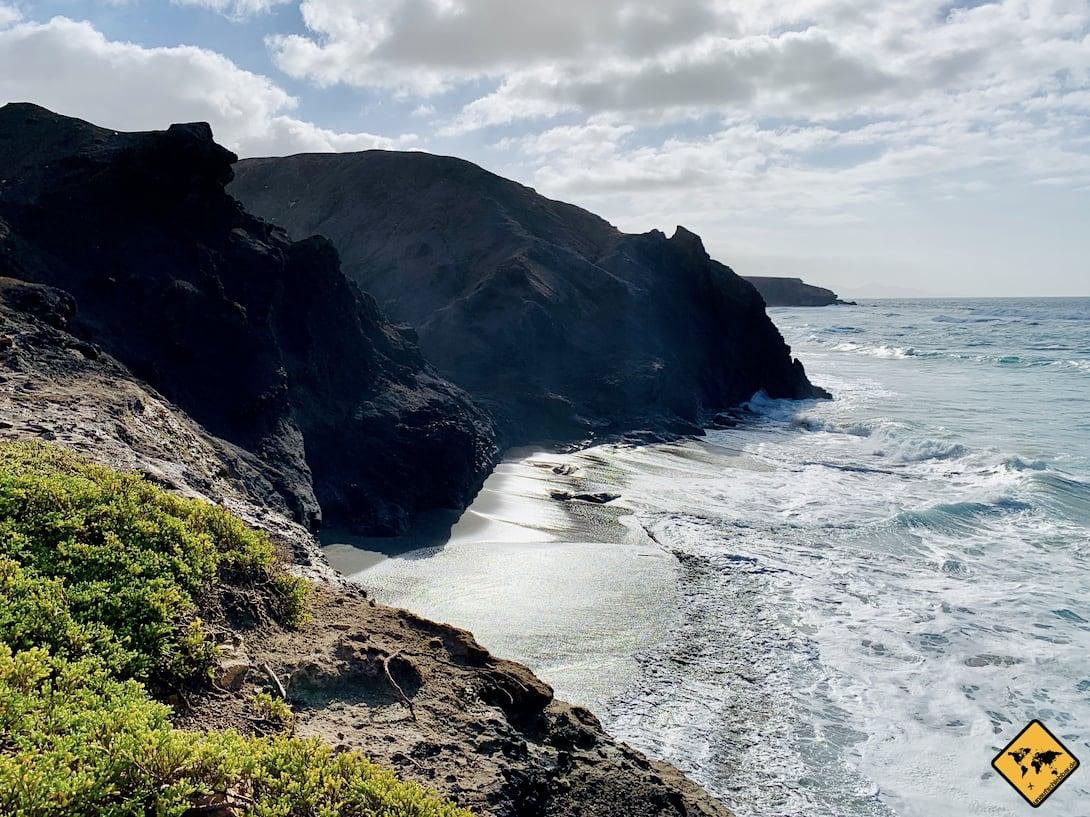 Reiseziele auf Fuerteventura La Pared Küste