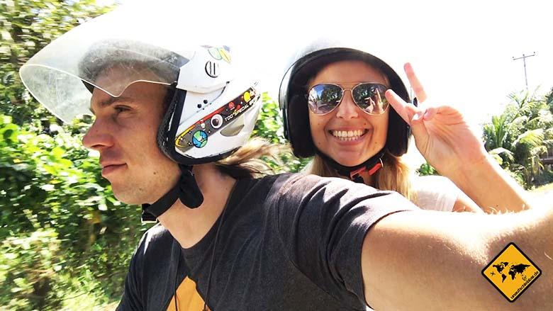 Reisterrassen Jatiluwih Bali Anreise Roller