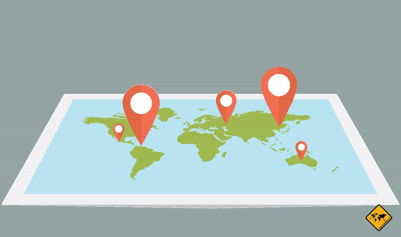 Remote Arbeiten im Ausland Fehler zuviel Reisen