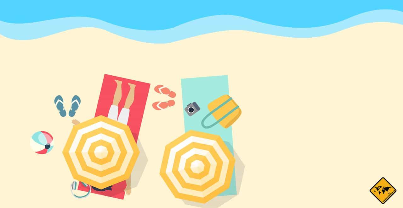 Remote Arbeiten im Ausland Fehler zu viel Sonne und Strand