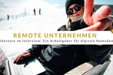 Remote Unternehmen Ridestore im Interview: Ein Arbeitgeber für digitale Nomaden