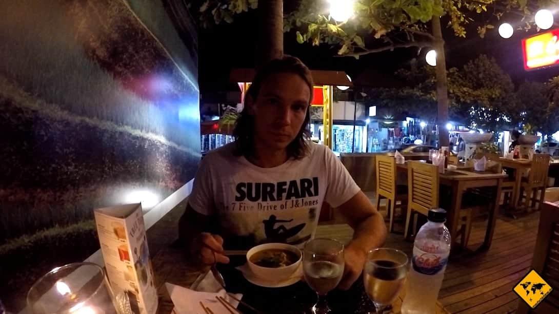 Restaurant Sanur Abend