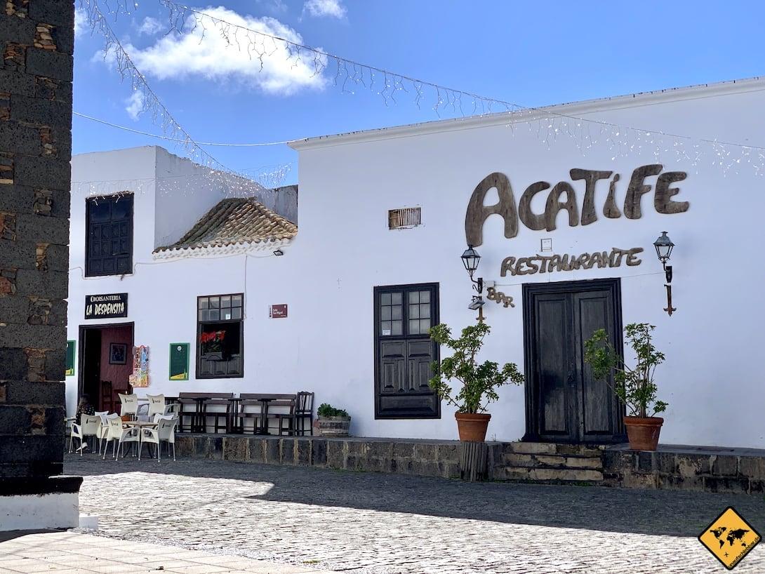 Restaurants Teguise Lanzarote