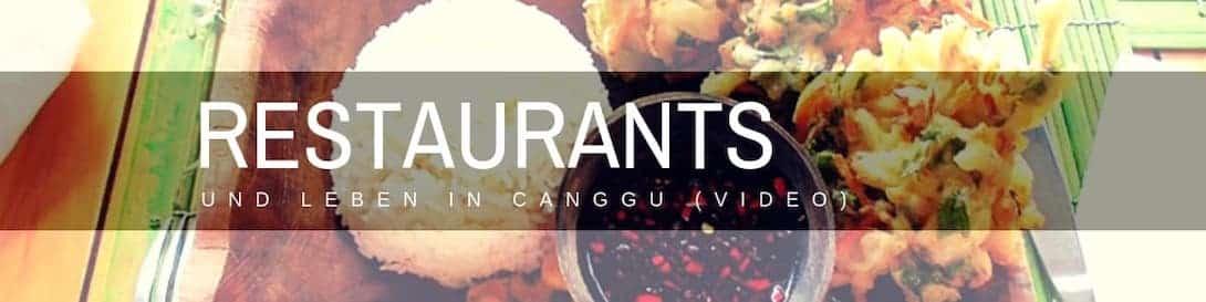 Restaurants in Canggu