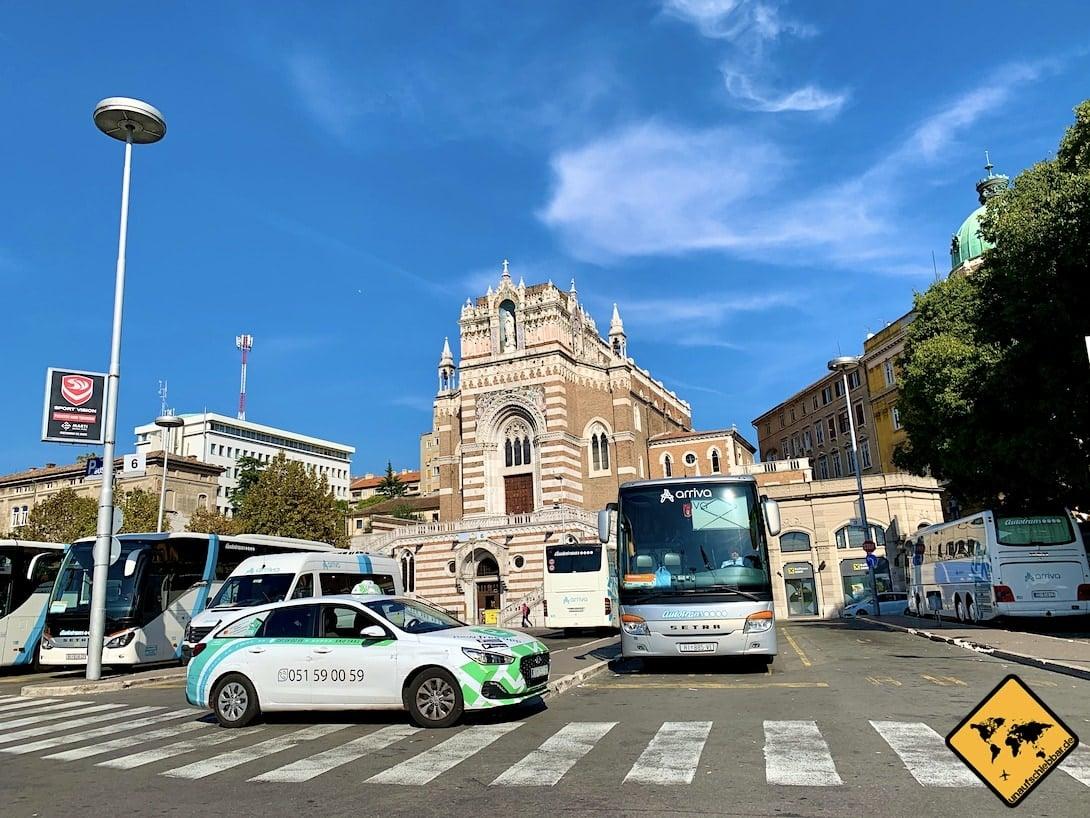 Rijeka Zentrum Busse