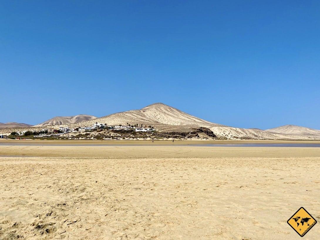 Risco del Paso Kitesurferstrand Fuerteventura
