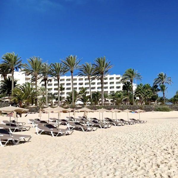 Riu Hotel Liegen Strand Corralejo Fuerteventura