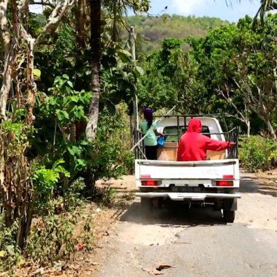 Auf Nusa Penida findest du besonders viele Straßen mit Schlaglöchern vor