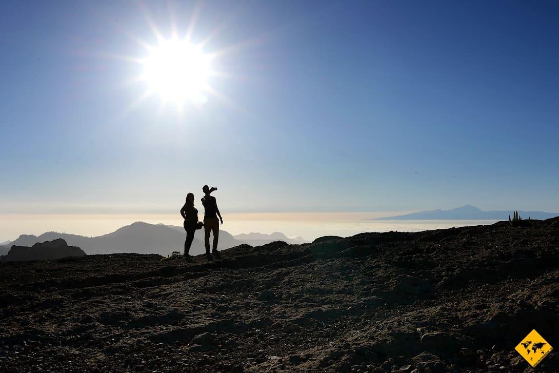 Roque Nublo Sonnenaufgang Gran Canaria