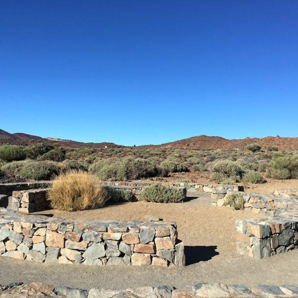 Roques de Garcia Nationalpark Teide Steinkreis