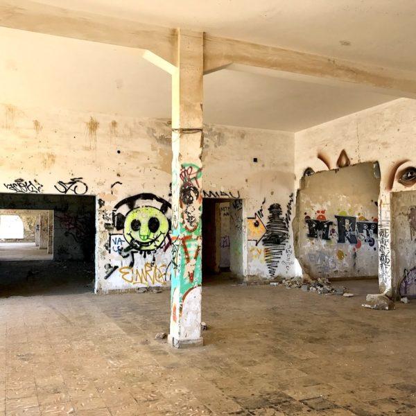 Ruinen Geisterstadt Teneriffa