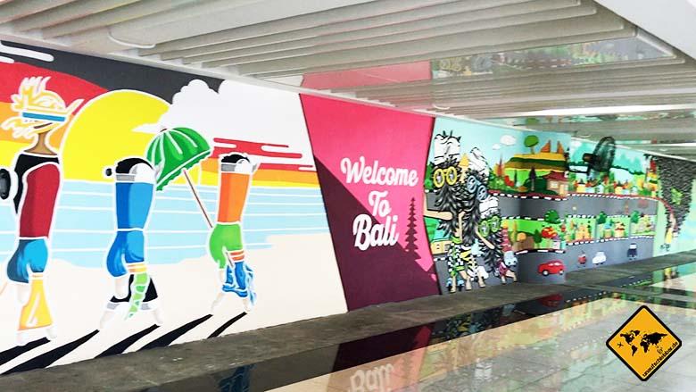 Rundreise Bali Lombok Denpasar Airport