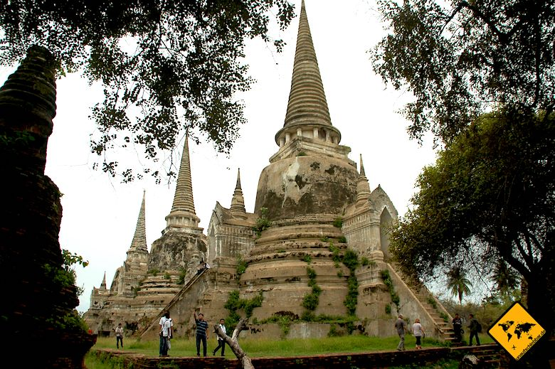 Rundreise Nordthailand Ayutthaya