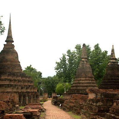 Rundreise Nordthailand Geschichtspark Sukhothai