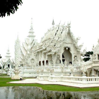 Rundreise Nordthailand Wat Rong Khun