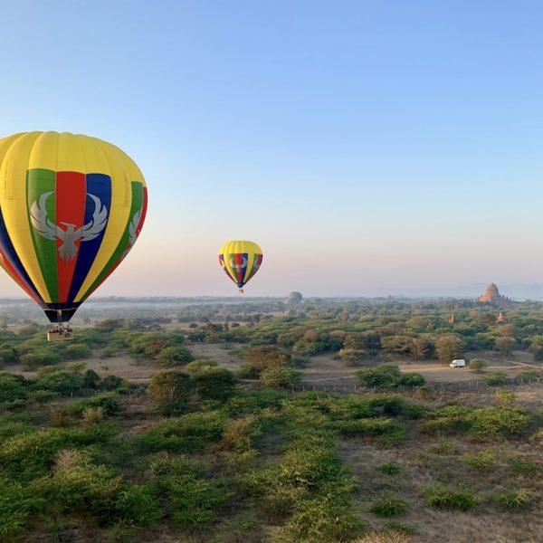 STT Ballons Bagan Myanmar