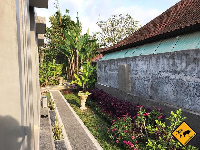 Sakha House Bali Garten