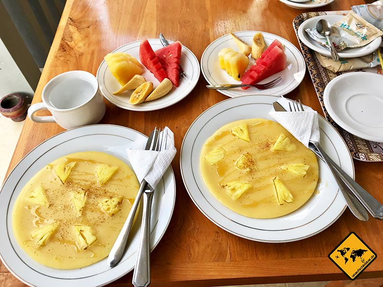 Sakha House Ubud Frühstück