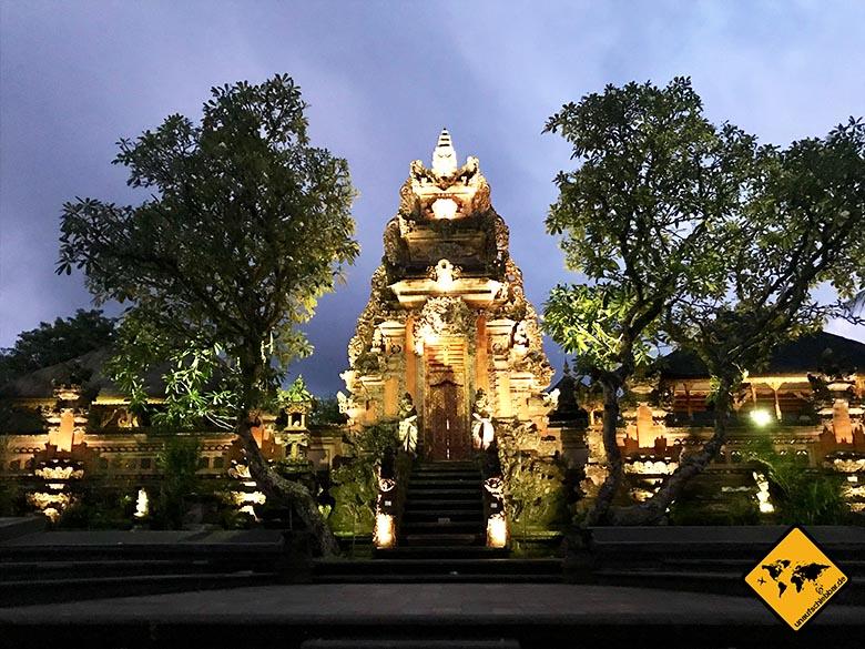 Sakha House Ubud Umgebung Pura Taman Saraskawi