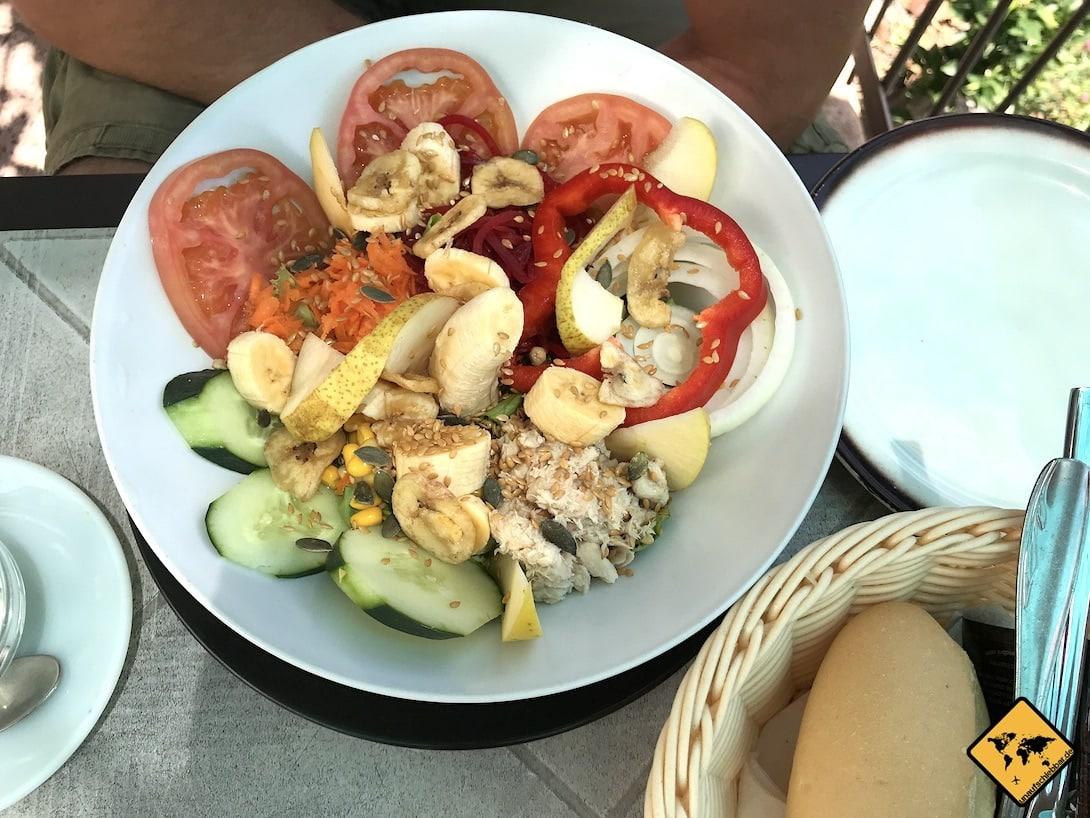Salat Restaurant Teneriffa Kosten