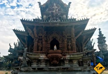 Sanctuary of truth Temple Pattaya – Holzkunstwerk der Superlative
