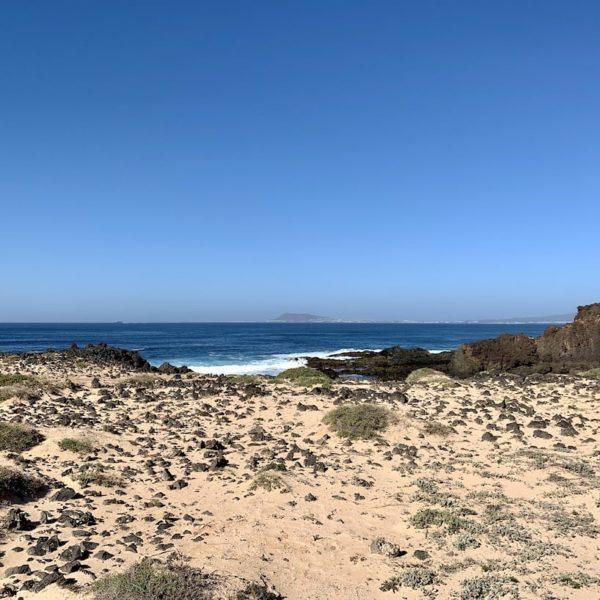 Sand Meer Isla de Lobos
