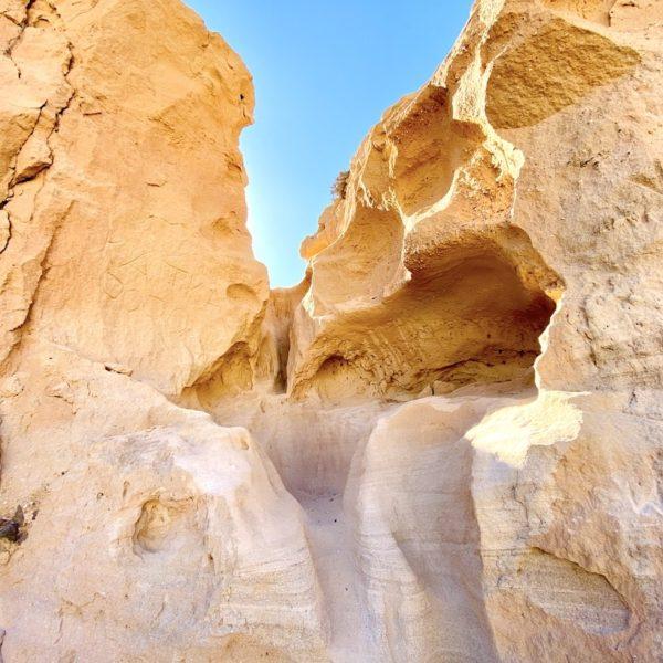 Sandsteine Barranco de los Enamorados Fuerteventura Insider Tipp