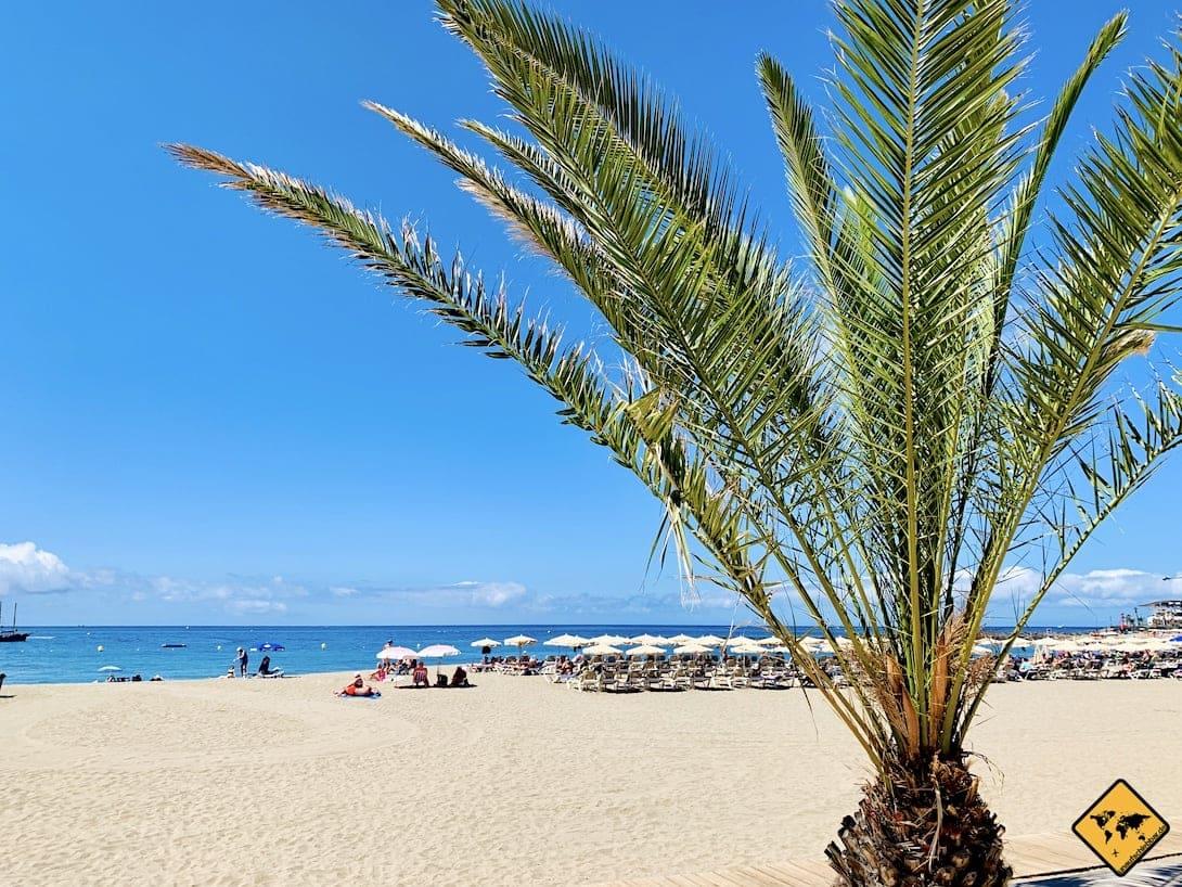 Sandstrand Los Cristianos Playa de Las Vistas