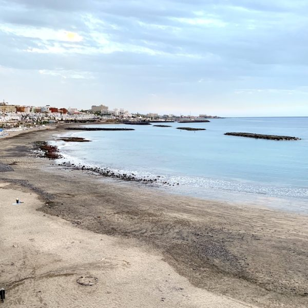 Sandstrand auf Teneriffa Playa de Fañabé