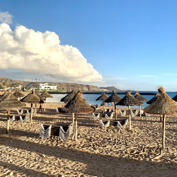 Sandstrand auf Teneriffa Playas Del Camisón