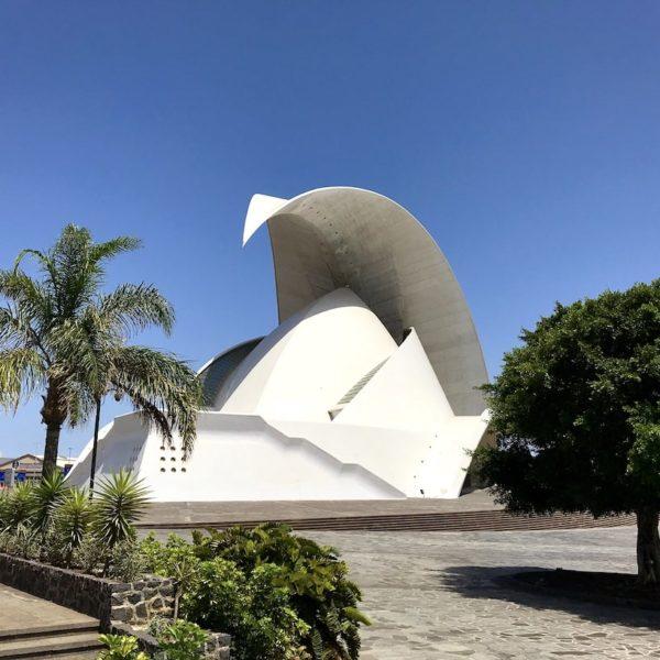 Santa Cruz de Tenerife Auditorium weiß